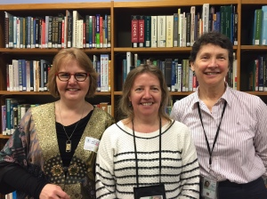Dee, Liz Doyle, Mary-Thadia D'Hondt at Region 10 EPA Library