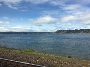 Train ride from Seattle to Portland